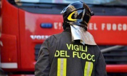 Vigili del fuoco novaresi recuperano salma nel canale Roggia Mora