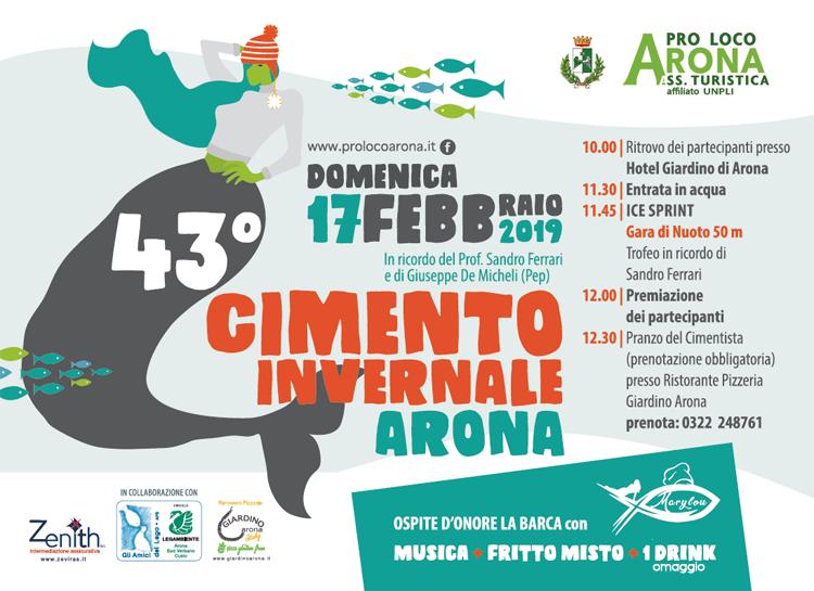 Tutto Pronto Per Il 43 Cimento Invernale Tuffo Domenica Ad Arona Prima Novara