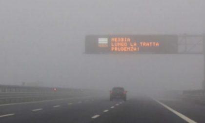 Questa mattina A1 chiusa per nebbia: attenzione anche ai prossimi giorni