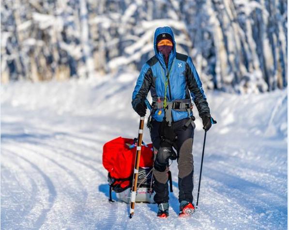 Nuovo record femminile alla Yukon Arctic 2019 per Laura Trentani