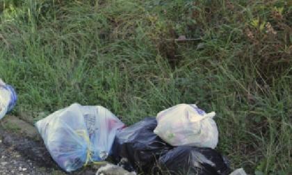 Dalla Valle d'Aosta per abbandonare rifiuti a Borgomanero