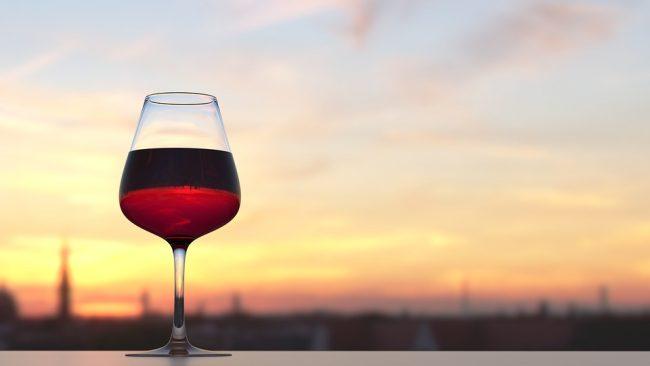 Un buon bicchiere di vino fa bene alla salute