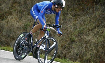 Filippo Ganna è campione d'Italia a cronometro!