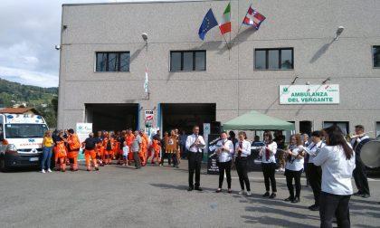 L'intervento di Ivan De Grandis in provincia per l'Ambulanza del Vergante