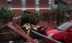 Maltempo: tetti crollati e alberi divelti a Gozzano e nel Cusio