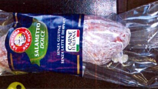 Latest Health News Salametto dolce ritirato dai supermercati dal ministero della Salute