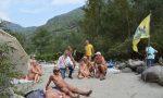 Varallo nudi lungo il Sesia: inaugurata spiaggia naturista | FOTO e VIDEO