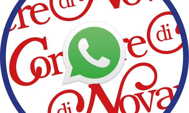 E Nato Il Gruppo Whatsapp Del Corriere Di Novara Novara