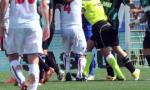 Rissa in campo: partita Under 17 sospesa in anticipo