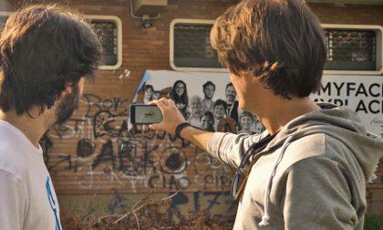 Novara, rinasce il murales ma a prova di vandali