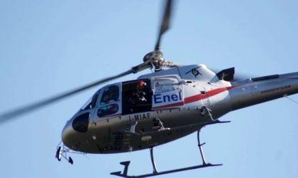 Elicotteri a bassa quota su novarese e Vco: è un'ispezione Enel