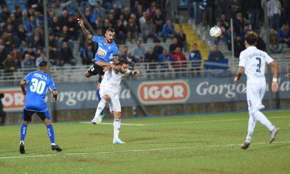 Il Novara calcio si schianta contro il muro della Pro Vercelli
