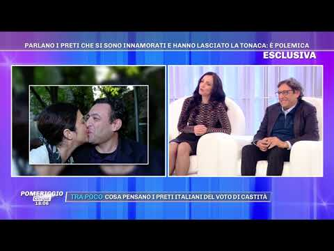 """Giuseppe Serrone, prof a Domodossola, dalla D'Urso: """"Ero prete, ora sono marito"""""""
