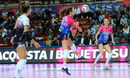 La Igor Volley Novara si arrende all'Imoco