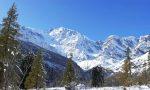 E' arrivata la neve in Ossola e Valsesia