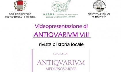 Storia locale a Gozzano sarà presentato l'ottavo volume di Antiquarium