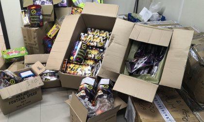 Novara, sequestrati 3mila articoli pirotecnici in un negozio cinese