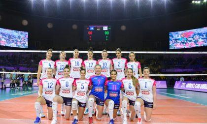 Fantastica Igor Volley! Debutto vittorioso in Cina