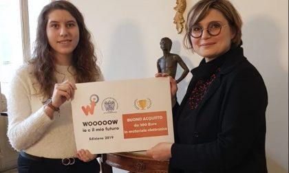 """Premio """"Wooooow! 2019"""" a studentessa del """"Mossotti"""" di Novara"""