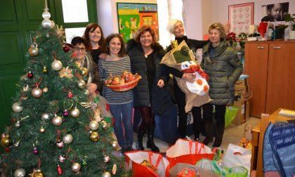 Per Natale gli aiuti del Parco Gatti di Borgomanero a casa Piccolo Bartolomeo