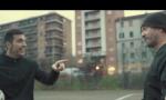 Biagio Antonacci gira video a Torino con Buffon