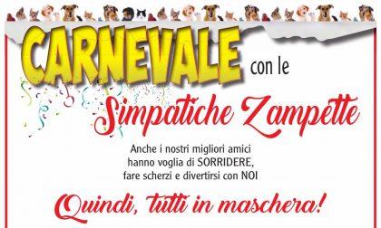 Tutti in maschera per il Carnevale delle Simpatiche zampette!