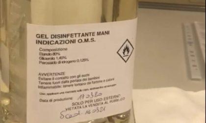 I laboratori di Arpa Piemonte hanno prodotto mezza tonnellata di gel igienizzante in 8 giorni VIDEO