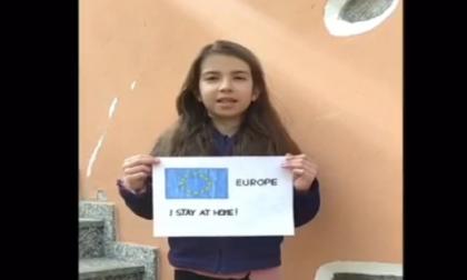 """Alunni in video per dire """"Io sto a casa"""" a Castelletto"""