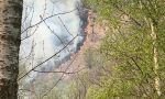 Incendio Armeno, riprendono le attività per domare le fiamme