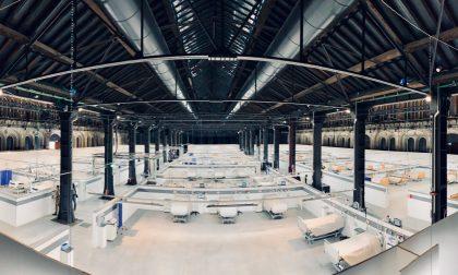 Ospedale Covid costruito in 12 giorni nelle Ogr di Torino – Il video in timelapse
