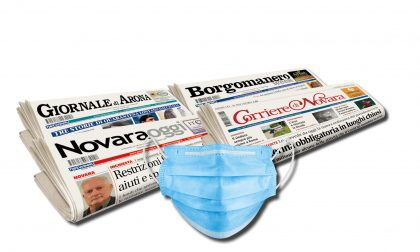 Fase 2: OGGI una mascherina insieme ai nostri giornali