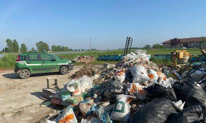 Garbagna novarese: sequestrata discarica con 300 mc di rifuti