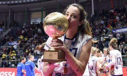 Igor Volley Novara, è l'ora di Elisa Zanette