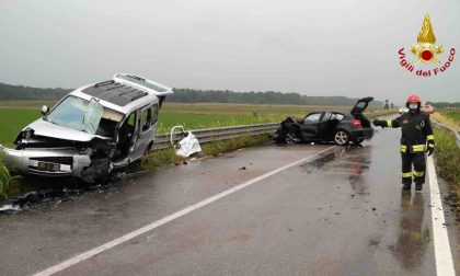 Incidente frontale tra Proh e Barengo