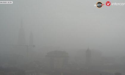 Violento nubifragio su Novara e novarese VIDEO