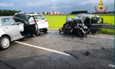 Incidente in tangenziale a Vercelli: due feriti gravi