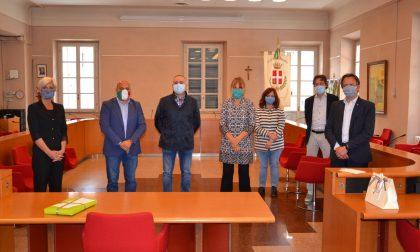 A Palazzo Tornielli una cerimonia per la pensione dell'architetto Antonella Manuelli