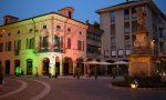 Per la Festa della Repubblica Palazzo Tornielli si illumina col tricolore