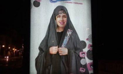 Chiara Ferragni musulmana sui manifesti a Torino FOTO
