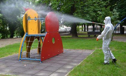 Sabato a Borgomanero riapriranno le aree gioco nei parchi pubblici
