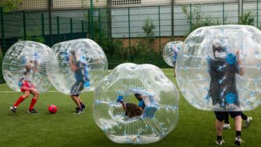 Calcetto in tempo di Covid: a Borgosesia arriva il Borgo Bubble Football