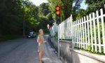 A Gozzano installato un nuovo semaforo al lido