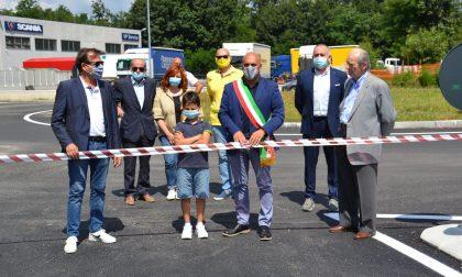 A Borgomanero inaugurata una nuova strada alla Resega