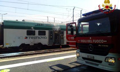 Stazione di Novara: principio d'incendio a un quadro dell'alta tensione