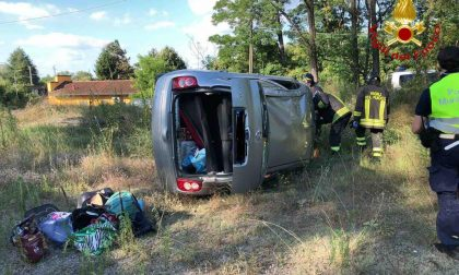 Galliate: famiglia di 4 persone coinvolta in un incidente sulla SS341