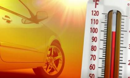 In auto sotto al sole: 13enne nel panico salvato da un vigilantes