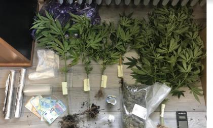Arrestato 23enne castellettese per detenzione di droga ai fini di spaccio