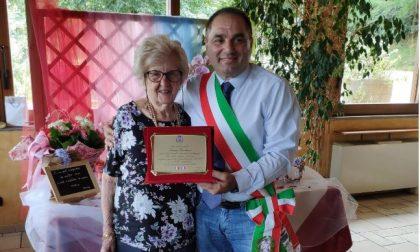 Festeggia 100 anni a Castelletto: auguri a Teresa Fanchini
