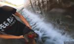 Capriola cade nel canale: il VIDEO del salvataggio e la FOTOGALLERY