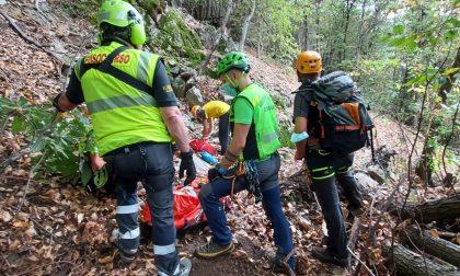 Ritrovato vivo l'escursionista disperso in Valle Canobina